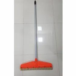 21 Inch Power Colour Floor Wiper With 4 Feet MS Rod