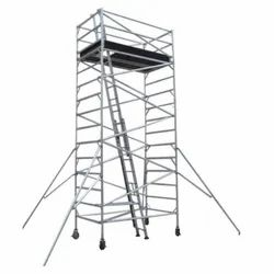 Industrial Aluminum Scaffold Ladders