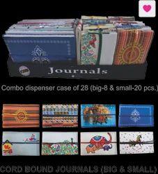 Journals Cord Bound  ( Big & Small )