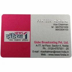 PVC Embossing Card