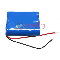 Li-Ion Battery Pack 3.7 V 1S3P