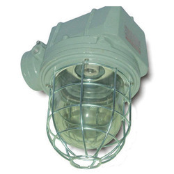 Integral Well Glass Light Fitting