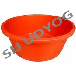 Colored Unbreakable Plastic Tub