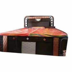 Modern Wooden Storage Double Bed, 3 Year