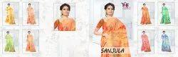 Sanjula 6 Tapadiya Patta Printed Saree