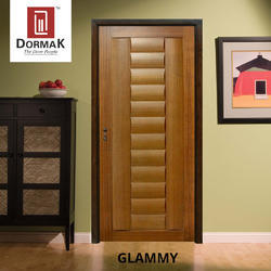 Glammy Veneered Wooden Door