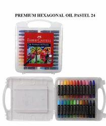 Faber-Castell Premium Oil Pastel-24 Shade