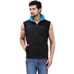 Sleeveless Plain Corporate Jacket