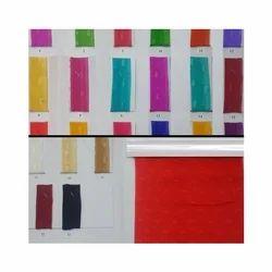 30 X 30 Bright Chiffon Butti Fabric