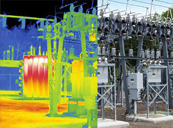 Thermal Camera for substation monitoring and industrial sites