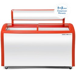 18 Voltas Curved Glass Top Deep Freezer, Capacity: 200 L