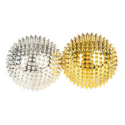 Golden & Silver Magnetic Acupressure Ball