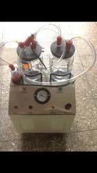 Double Jar Suction Apparatus