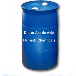 Dilute Acetic Acid