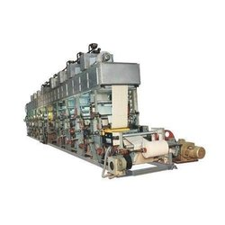 Non Woven Roto Gravure Printing Machine