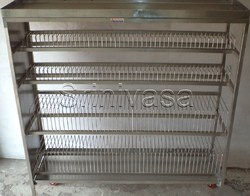 SS Plate Rack