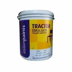 Matt Asian Paints Tractor Emulsion Paints, Packaging Type: Bucket, for Interior Walls