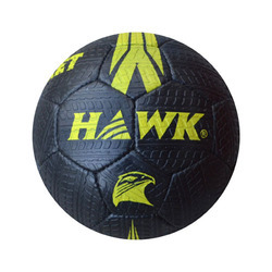 Rubberized Hawk Street Black Football