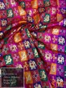 Kimkhab Banarasi Multi Color Jacquard Fabrics