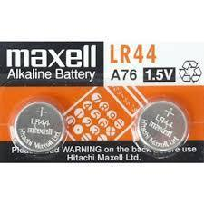 MAXELL LR44 Batteries