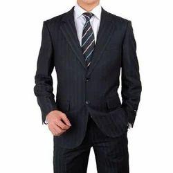 Regular Fit Linen Men Business Blazer