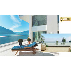 Outdoor Balcony Glass Railing