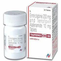 Emtricitabine 200 Mg And Tenofovir Alafenamide 10 Mg Tablets