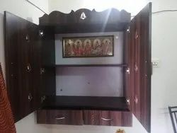 Wooden Pooja Cupboards