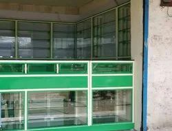 Costumer Choice Mild Steel Medical Counter and Showcase Rack, For Shop Furniture