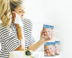 White Plain Multi Use Hanky/Dry Wipes By Embuer, Size: 20*30, 20