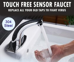 sensor tap hand wash for clean