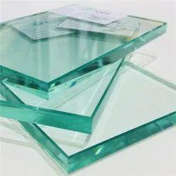 Transparent Toughened Plain Glass, Thickness: 10.0 mm