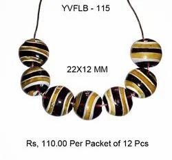 Lampwork Fancy Glass Beads - YVFLB-115