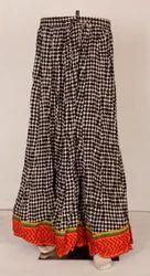 Ladies Print Long Skirts