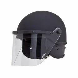 Bullet Proof Steel Face Shield