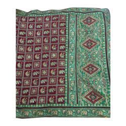 Gharchola Ethnic Silk Saree, 5.5 M (separate Blouse Piece)