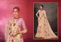 Organza Silk Embroidered Party Wear Saree