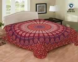 Double Bed Sheets, Size: 210x240 cm