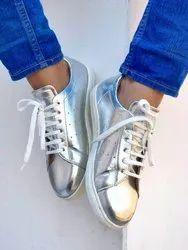 Women PU Ladies Sneakers Shoes