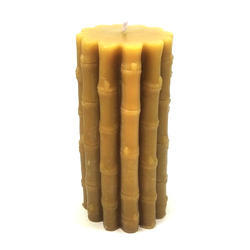 Bamboo Shape Beeswax Candle
