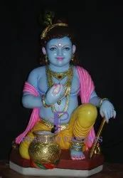 Ladoo Gopal Marble Statue