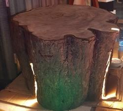 LED Wooden Log