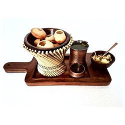 Gol Gappa/Paani Puri Snack Server Set