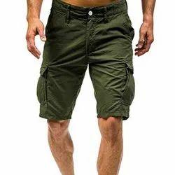 Eco Cotton Mens Cargo Shorts