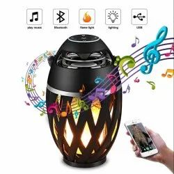 Modern & Contemporary Dome Zoom Star Nightingale Flame Bluetooth Speaker