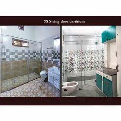 Glass Swing Door Shower Partitions