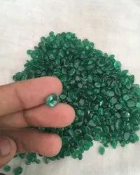Green Oval Natural Emerald Gemstone, Size: 2crt To 6crt