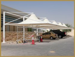 Ferrari Conical Tensile Fabric Structure
