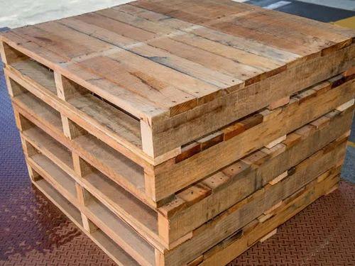 Wooden Base Skids