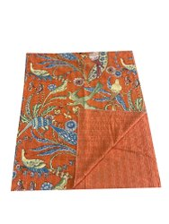 Indian Handmade Kantha Quilt Hand Stitched Gudari